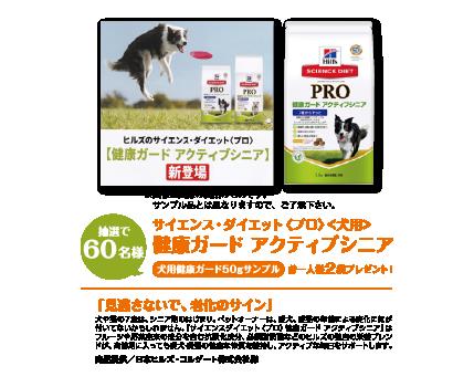 サイエンス・ダイエット プロ〈犬用〉健康ガードアクティブシニア